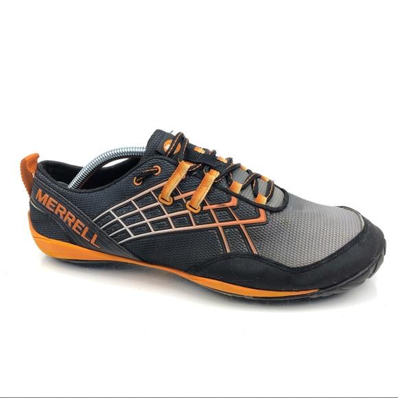 Merrell Other - Merrell Trail Glove 2  Black Tanga Running Shoes
